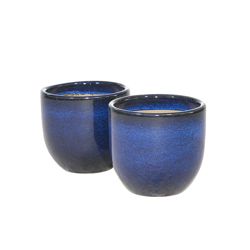 Vaso p/ Orquídea 44.237 Azul